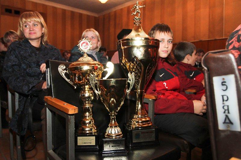 Лучшие игроки Открытого Чемпионата г.Подольска по футболу 2012 года