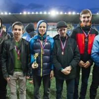 Награждение призеров детского зимнего ТДК